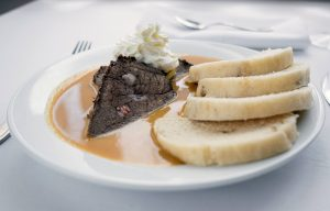 Traditional Braised Beef with dumplings