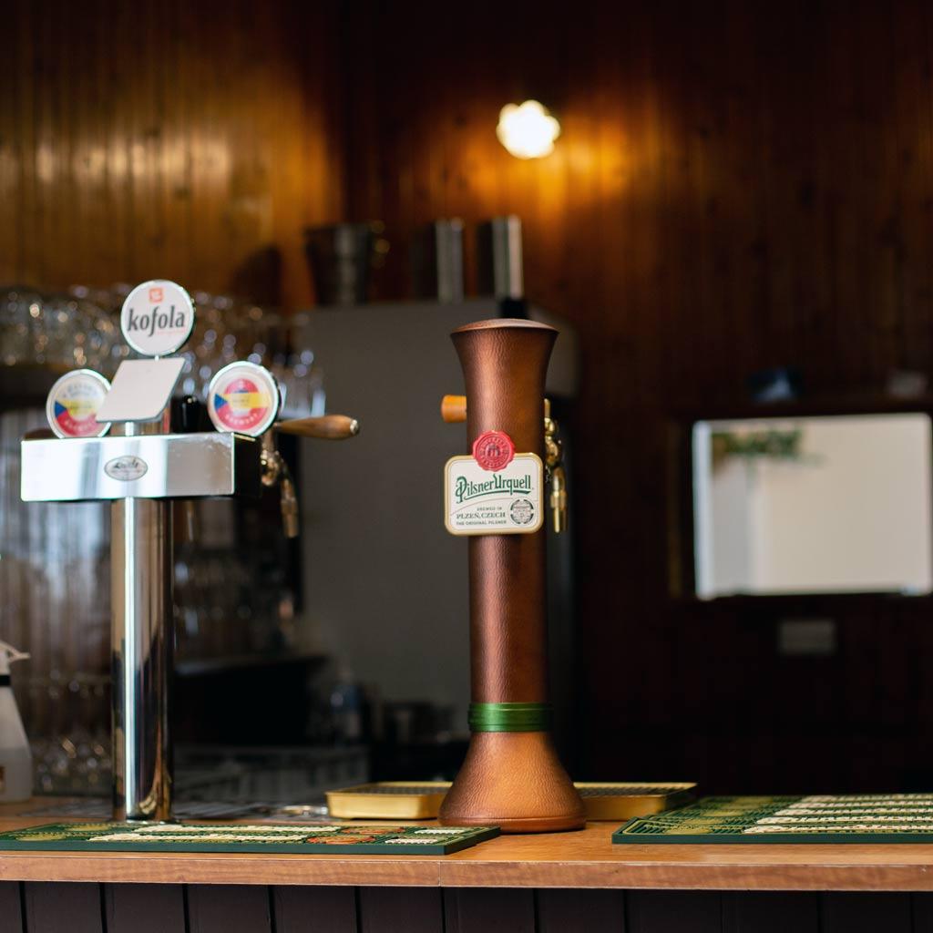 Bar beer taps
