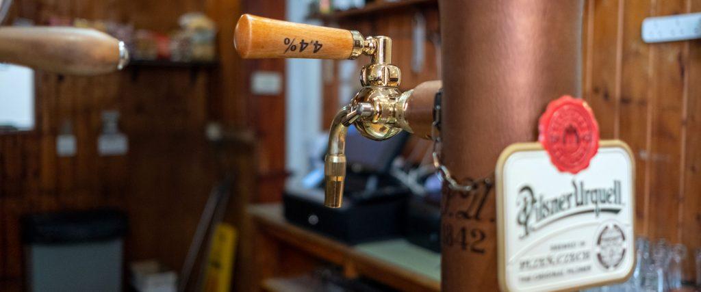 beer tap detail